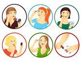 Zabiegów kosmetycznych — Wektor stockowy