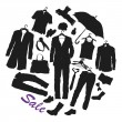 Stock Vector: Clothing