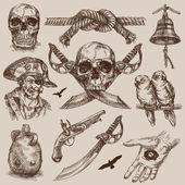 пират — Cтоковый вектор