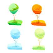 Water kleur — Stockfoto