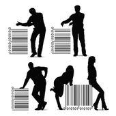 Barcode — Stockvector