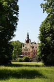 New castle in Bad Muskau — Stock Photo