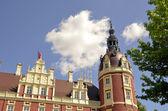 New castle in Bad Muskau — Stock Photo