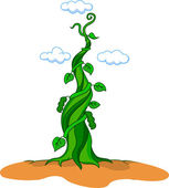 Beanstalk — Stock Vector