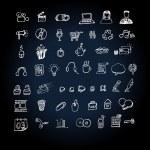 Web Icon set doodle — Stock Vector #11150762