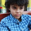 Curly boy — Stockfoto