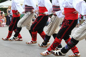Folklore dancers — Stock Photo