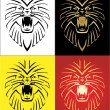 Lion Mascot Illustration — Stock Vector