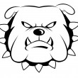 Stock Vector: Bulldog