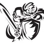 Knight rider — Stock Vector #11441230