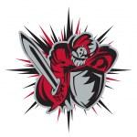 Knightrider mascot — Stock Vector #11441285