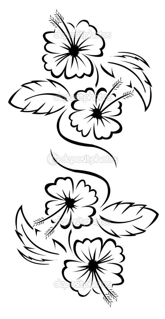 Flower Tattoo Floral Stock Vector Premiumdesign 11441206