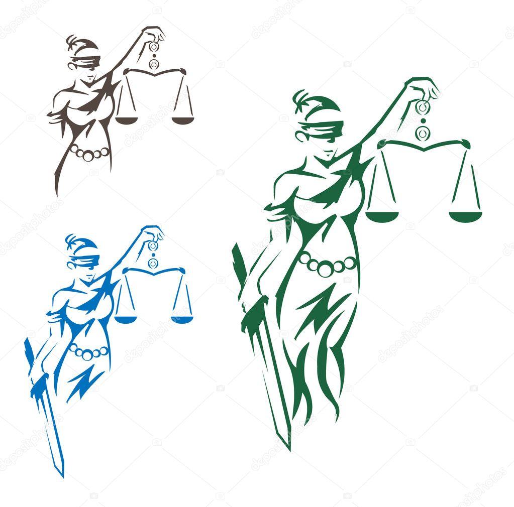 u6b63 u4e49 u5973 u795e  u56fe u5e93 u77e2 u91cf u56fe u50cf u00a9 premiumdesign 11441211 lady justice clip art us supreme court Lady Justice Symbol