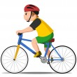 Bicycle kid — Stock Vector #11987983