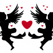 Royalty-Free Stock Vector Image: Cupids