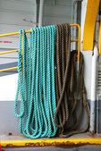 Boat Rope — 图库照片