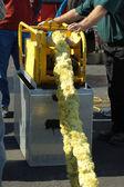 Rope mop skimmer — Stock Photo