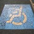 Handicap Parking — Stock Photo