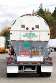 Liquid Nitrogen UN1977 Truck — Stock Photo