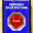 Foto Stock: Emergency Down