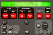 Alarm Panel — Stock Photo