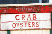 Crab Oysters — Stock Photo