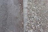 Fundo rochoso no subsolo — Fotografia Stock