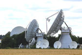 Satellite systems in Germany — Stock Photo
