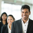 Happy Indian business team. — Stock Photo