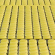 Stock Photo: Yellow Stadium Seating