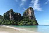 Railay beach, krabi, thailand — Stock Photo