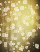 Glittery gold background with stars — Stock Photo