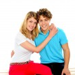 Love couple hugging each other — Stock Photo #10775633