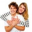 Happy young couple in love — Stock Photo #10775922