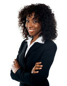 Successful young businesswoman, portrait — Stock Photo