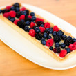 Fresh berries ready to be consumed — Stock Photo