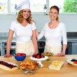 Stock Photo: Professional chefs in commercial kitchen