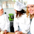 Group of professional female chefs — Stock Photo #11514732