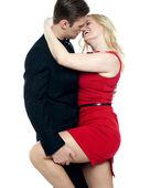 性感的年轻夫妇做爱 — 图库照片