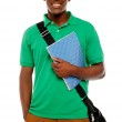 Its study time. Young african student — Stock Photo #11885041