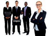 Group of business . Business team — Stock Photo