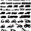 Stock Vector: All types of transport