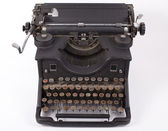 Retro typewriter — Stock Photo