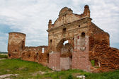 Ruinas de los monasterios cartujo puerta en bielorrusia, bereza — Foto de Stock