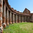 The ruins of the old palace in Belarus - Stock Photo