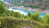 Beautiful lake in the canyon — Stock Photo