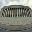 Exterior of Parliament house of Finland — Stock Photo #11237349
