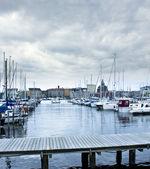 Harbor in Helsinki — Stock Photo