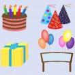 Royalty-Free Stock Vector Image: Birthday