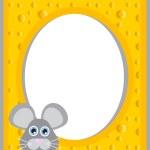 Cheese frame — Stock Vector #11187931